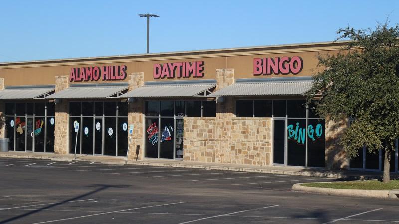 Alamo Hills Daytime Bingo